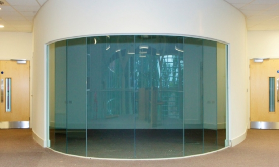 Curved Glass Screens Glazed Partitions Product